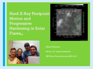 Hard X-Ray  Footpoint  Motion and Progressive Hardening in Solar Flares