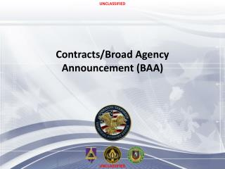 Contracts/Broad Agency Announcement (BAA)
