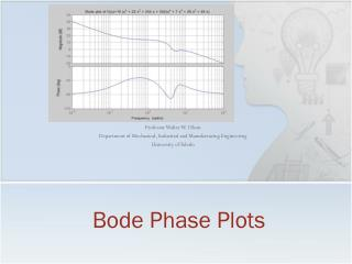Bode Phase Plots