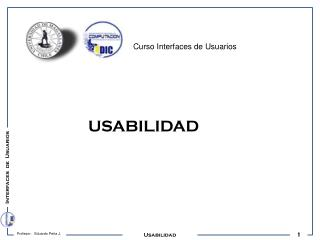 Interfaces  de  Usuarios