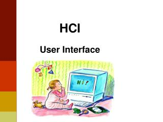 HCI User Interface