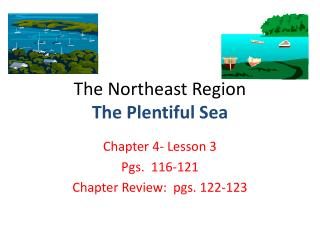 The Northeast Region The Plentiful Sea