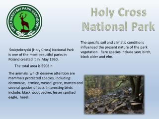 Holy Cross National Park