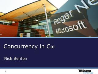 Concurrency in  C 