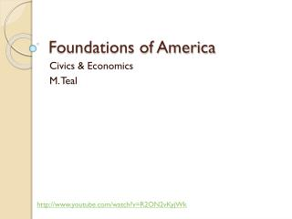Foundations of America