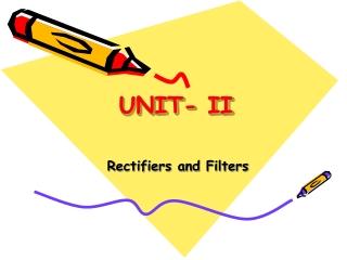 UNIT- II