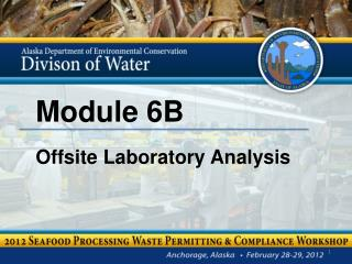 Module 6B Offsite Laboratory Analysis