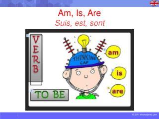 Am, Is, Are Suis , est , sont