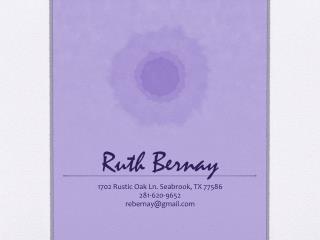 Ruth Bernay