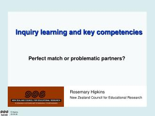 Inquiry learning and key competencies