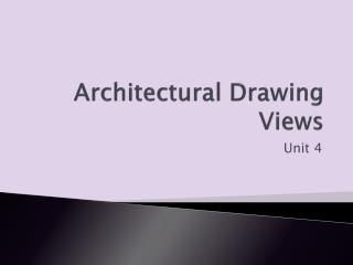 Architectural Drawing Views
