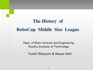 Dept.  of Brain  Science and Engineering Kyushu Institute of Technology