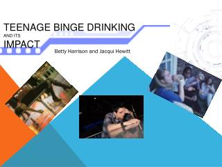 Teenage Binge drinking  and  its Impact
