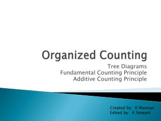 Ppt organized counting powerpoint presentation id2358243 download section ccuart Gallery