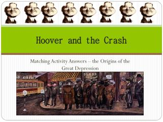 Hoover and the Crash