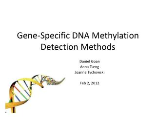 Gene-Specific DNA Methylation Detection Methods