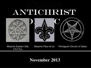 ANTICHRIST PROPHECIES