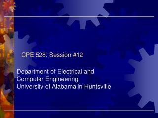 CPE 528: Session #12