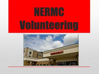 NERMC Volunteering
