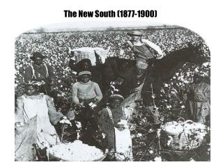 The New South (1877-1900)