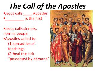 The Call of the Apostles