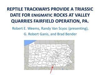 Robert E. Weems, Randy Van  Scyoc  (presenting),  G. Robert  Ganis , and Brad Bender