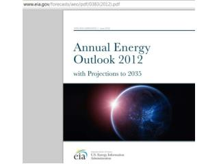 US Energy policy 2012