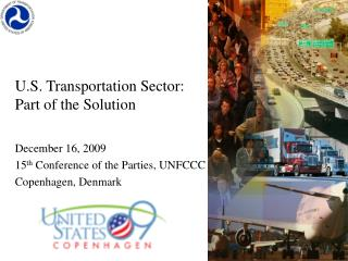 U.S. Transportation Sector: Part of the Solution