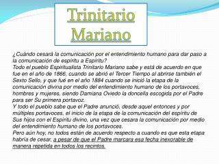 Trinitario Mariano