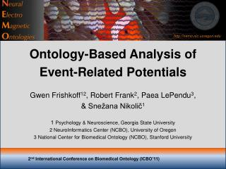 2 nd  International Conference on Biomedical Ontology (ICBO'11)