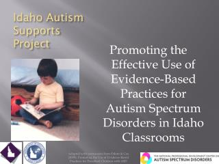 Idaho Autism Supports Project