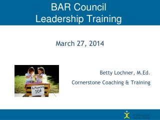 BAR Council  Leadership Training