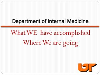 Department of Internal Medicine
