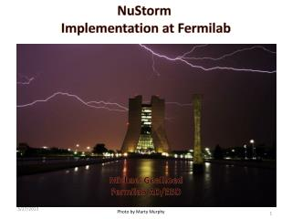 NuStorm Implementation at Fermilab