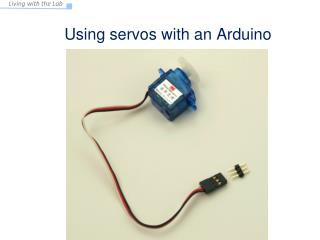 Using  servos with an Arduino