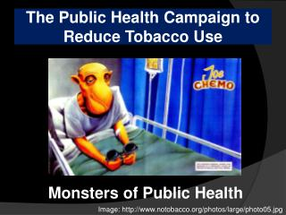 The Public Health Campaign to Reduce Tobacco Use