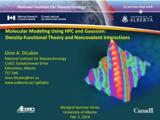 Molecular Modeling Using HPC and Gaussian: Density-Functional Theory and Noncovalent Interactions