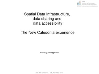 Spatial Data Infrastructure,  data  sharing and  data  accessibility