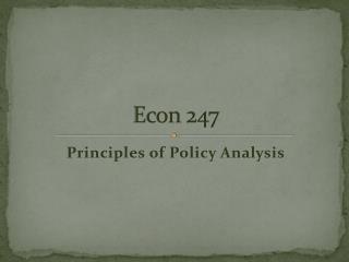 Econ 247