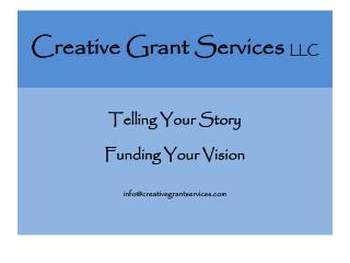Creative Grant Services LLC