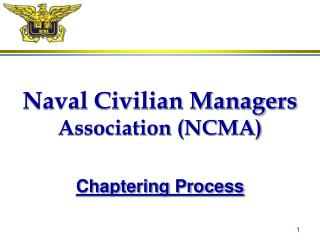 Naval Civilian Managers Association (NCMA)