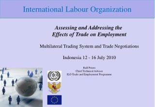 Assessing and Addressing the  Effects of Trade on Employment