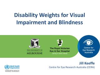Disability Weights for Visual Impairment and Blindness
