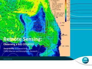 Remote Sensing: