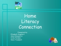 Home Literacy Connection