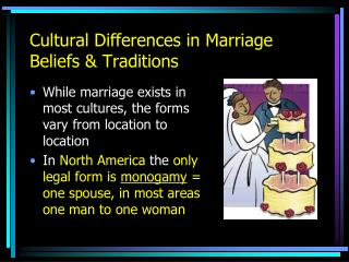 Cultural Differences in Marriage Beliefs & Traditions
