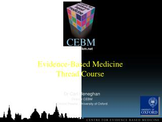 Evidence-Based Medicine  Thread Course