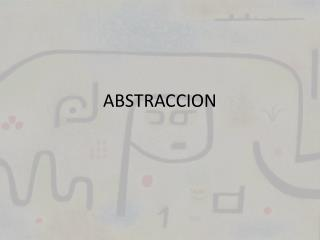 ABSTRACCION
