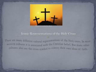 Iconic Representations of the Holy Cross