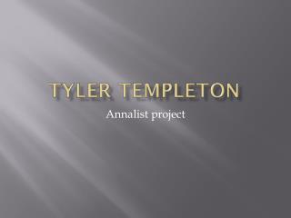 Tyler Templeton